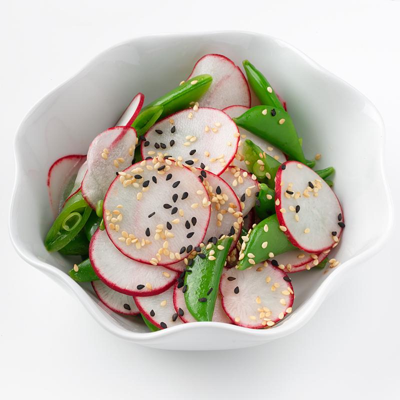 Photo of Asian Radish and Sugar Snap Pea Salad by WW