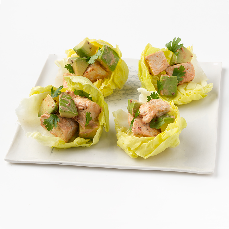 Photo of Chipotle Chicken Salad in Lettuce Cups by WW
