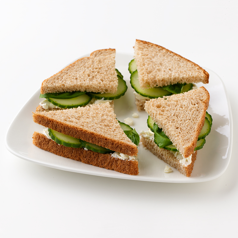 Photo of Cucumber and Feta Tea Sandwiches  by WW