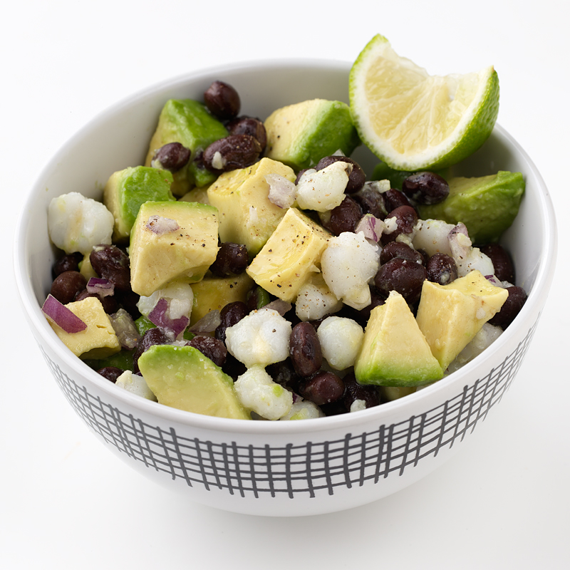 Photo of Hominy and Black Bean Salad by WW