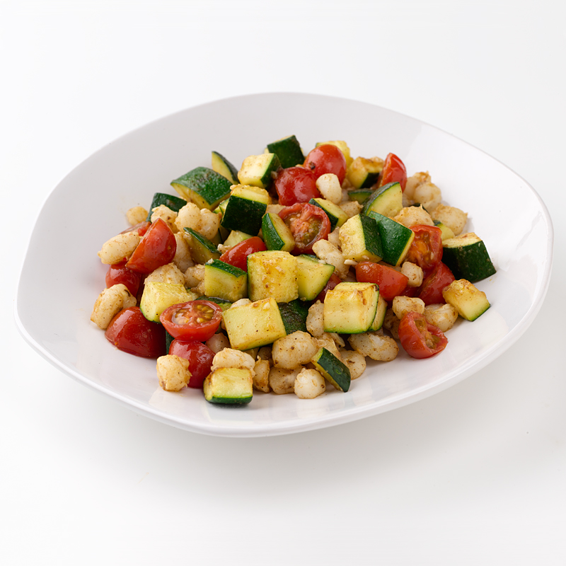 Photo of Hominy and Zucchini Sauté by WW