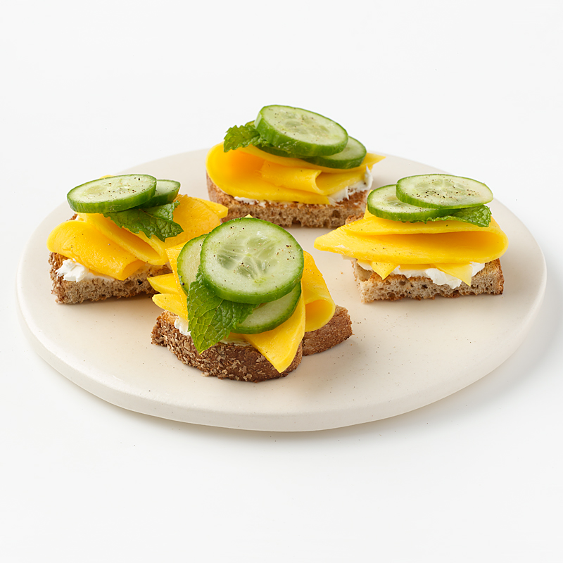 Photo of Mango and Cucumber Tea Sandwich  by WW