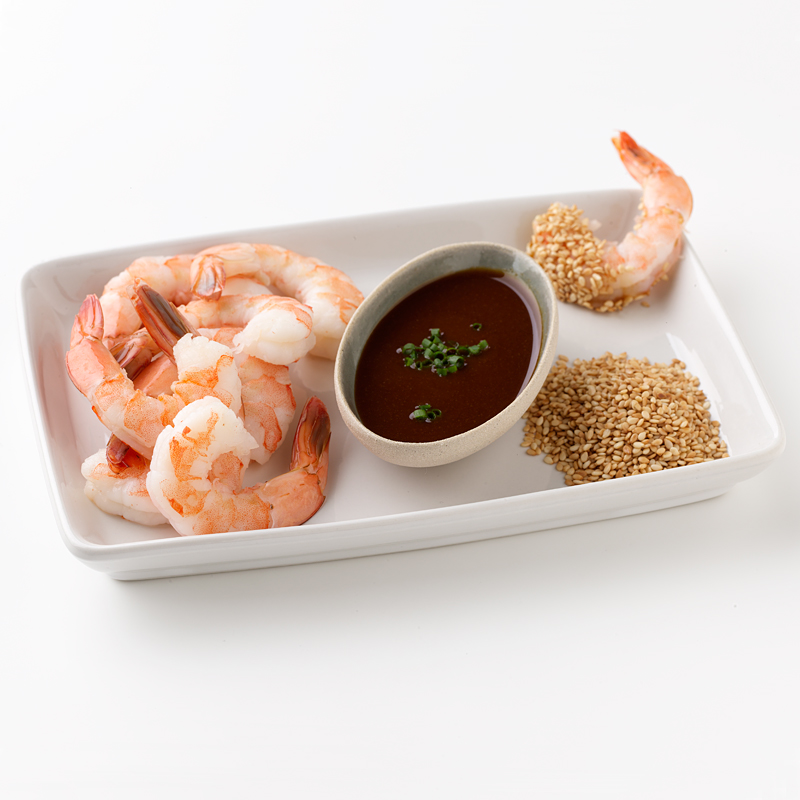 Photo of Shrimp with Wasabi and Sesame Seeds by WW