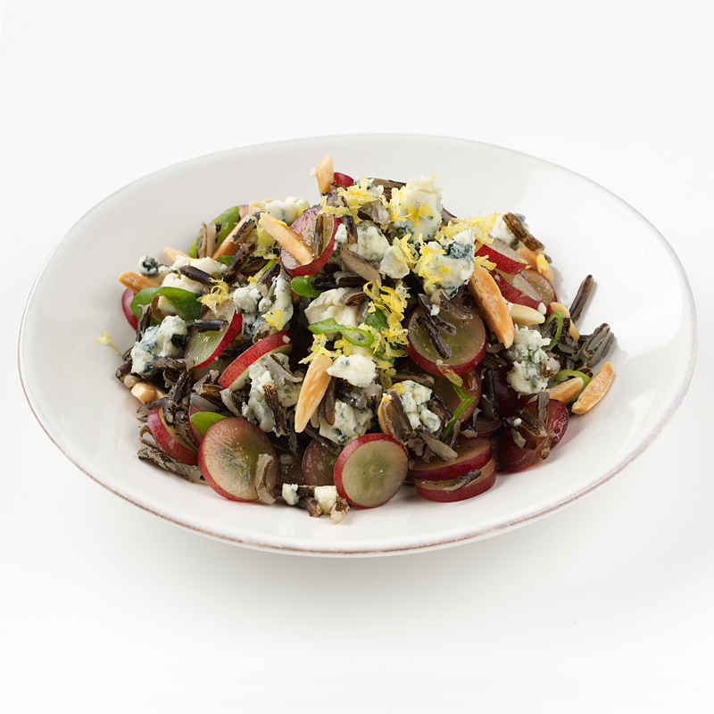 Photo of Wild Rice, Grape and Blue Cheese Salad  by WW