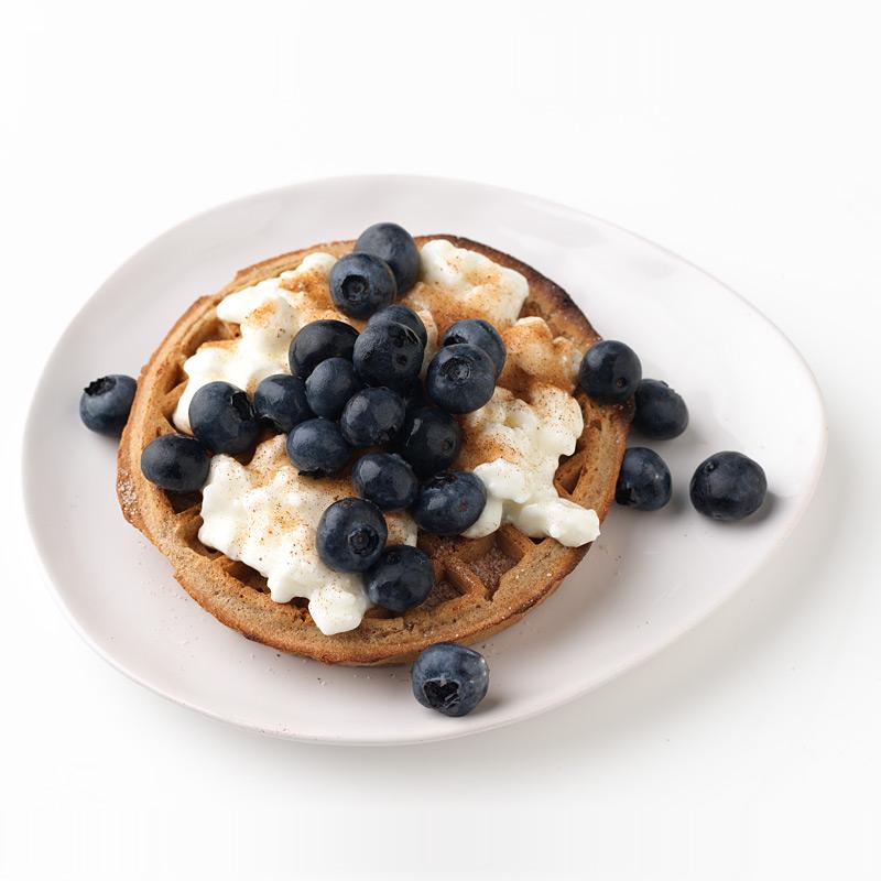 Photo of Blueberry-Spice Waffle  by WW