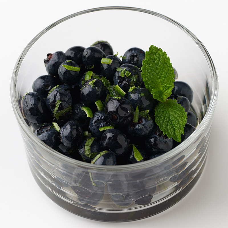 Photo of Blueberry Mojito Cups by WW