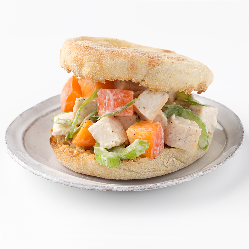 Photo of Apricot-Chicken Salad Sandwich by WW