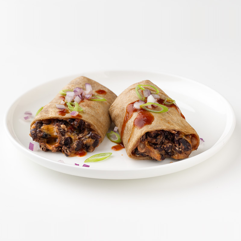 Photo of Easy Cheese and Bean Burrito   by WW