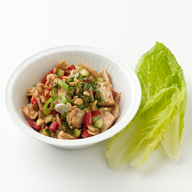 Photo of Thai Tuna Lettuce Wraps  by WW