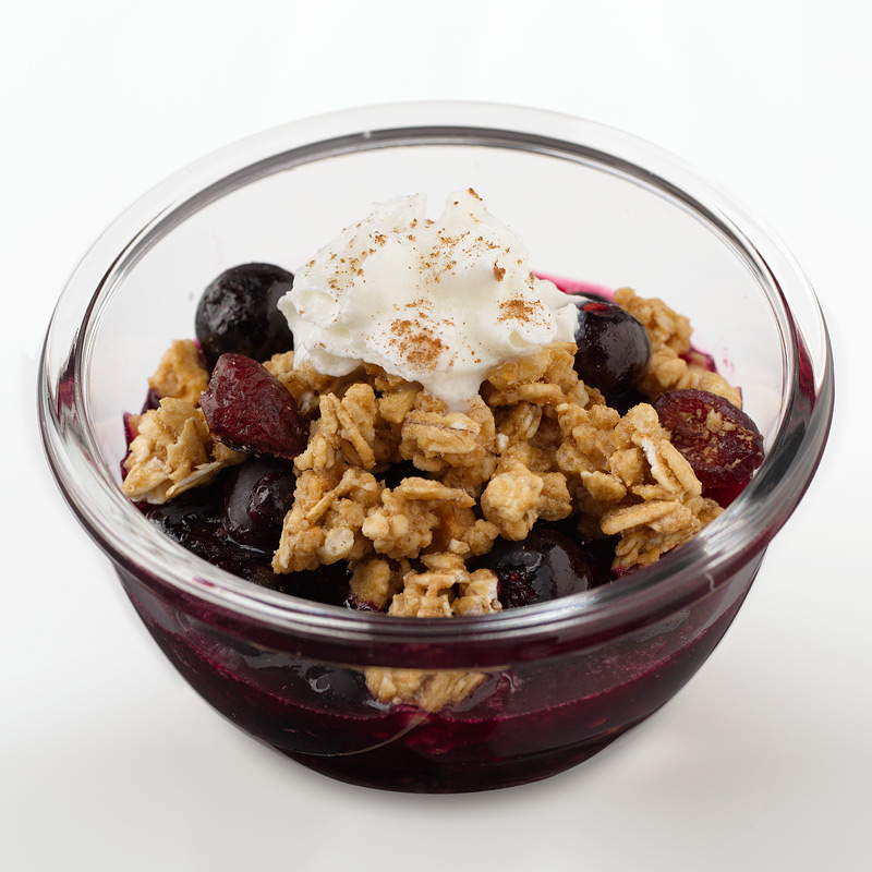 Photo of Warm Blueberry Compote by WW