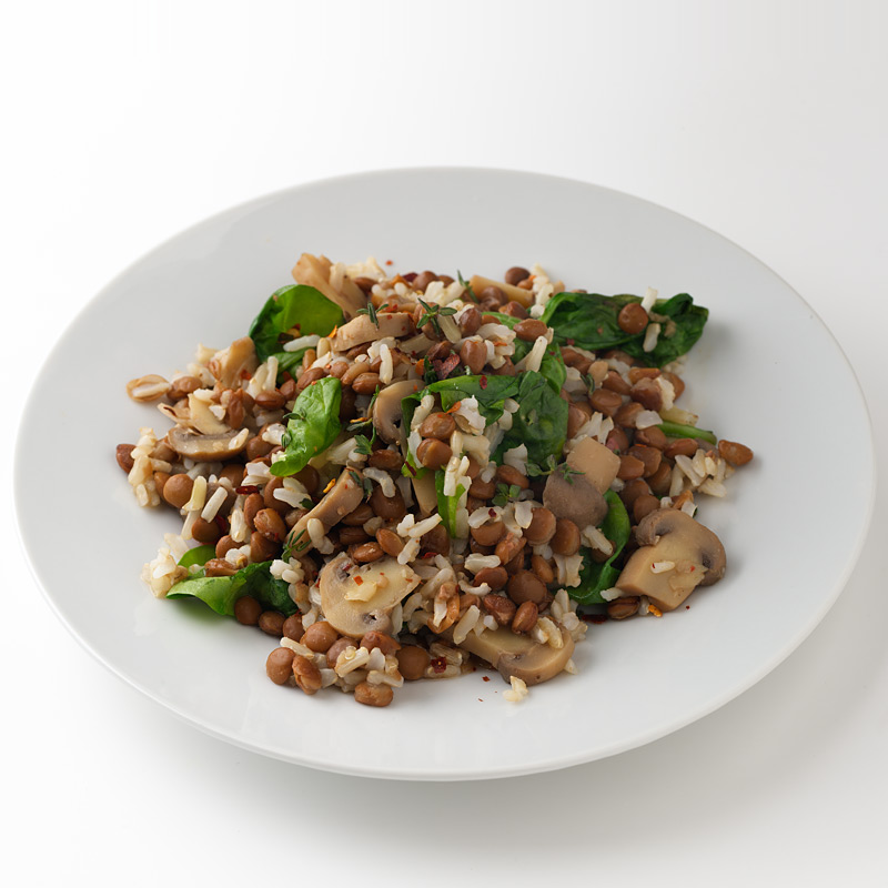 Photo of Warm Lentil and Rice Pilaf by WW