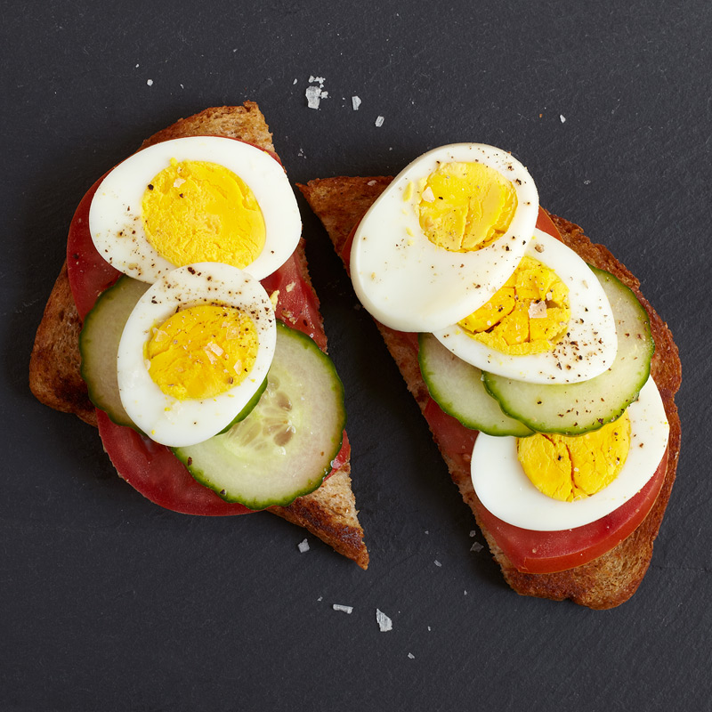 Photo of Egg and Cucumber Sandwich by WW