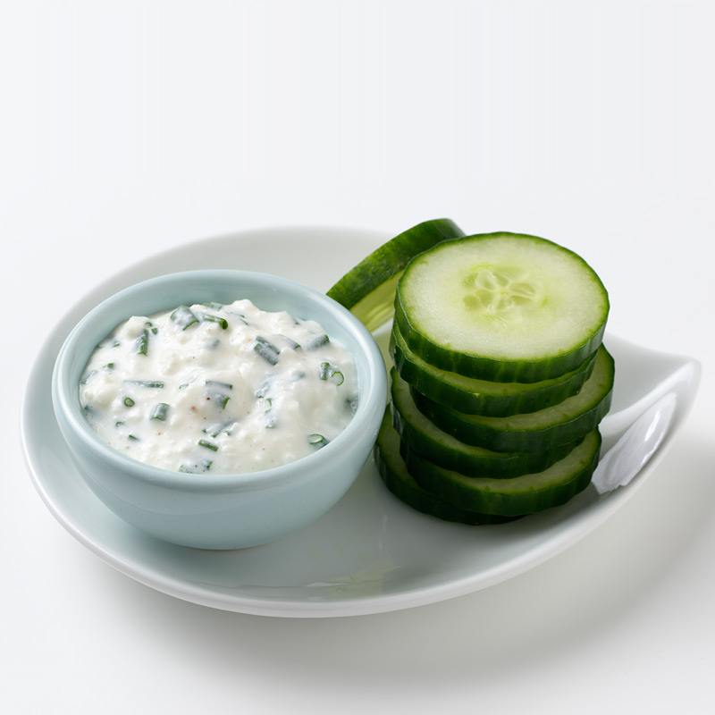 Photo of Cucumber Chips with Dip by WW