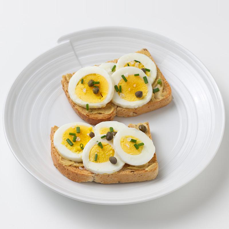 Photo of Sliced Egg Sandwich by WW