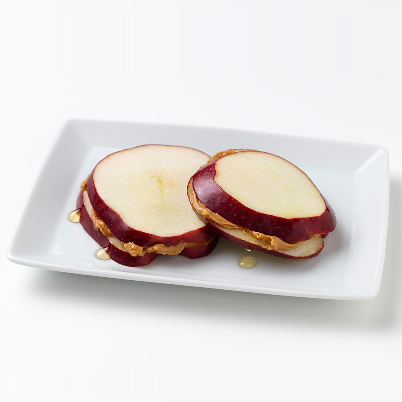 Photo of PB and Apple Sandwiches  by WW