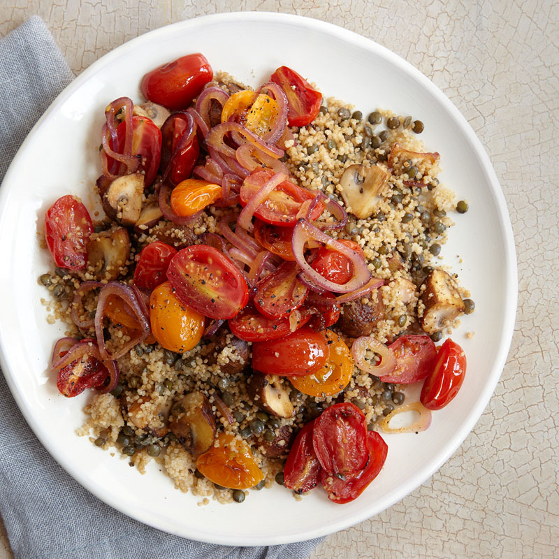 Photo of Couscous with Lentils & Vegetables by WW