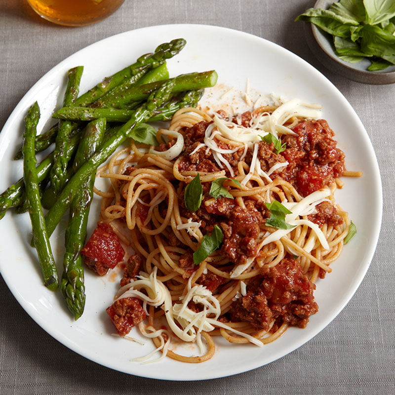 "Photo of Pasta with ""Meat"" Sauce by WW"