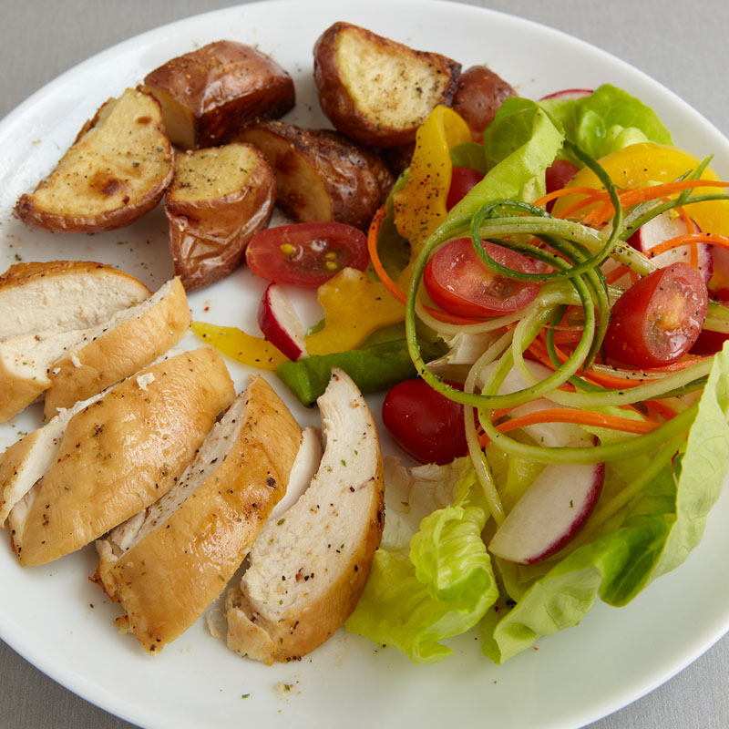 Roasted Turkey Breast with Potatoes - Meal for One | WW USA