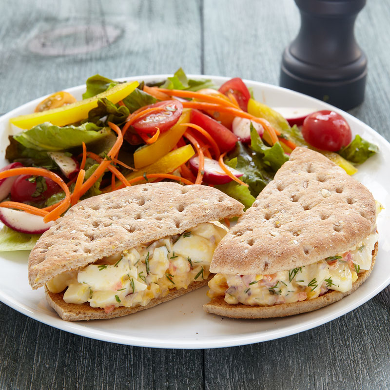 Photo of Egg Salad Sandwich & Side Salad  by WW