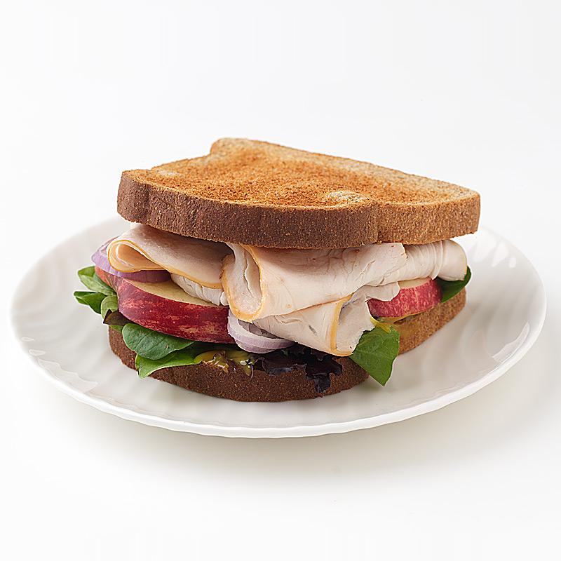 Photo of Turkey and Apple Sandwich by WW