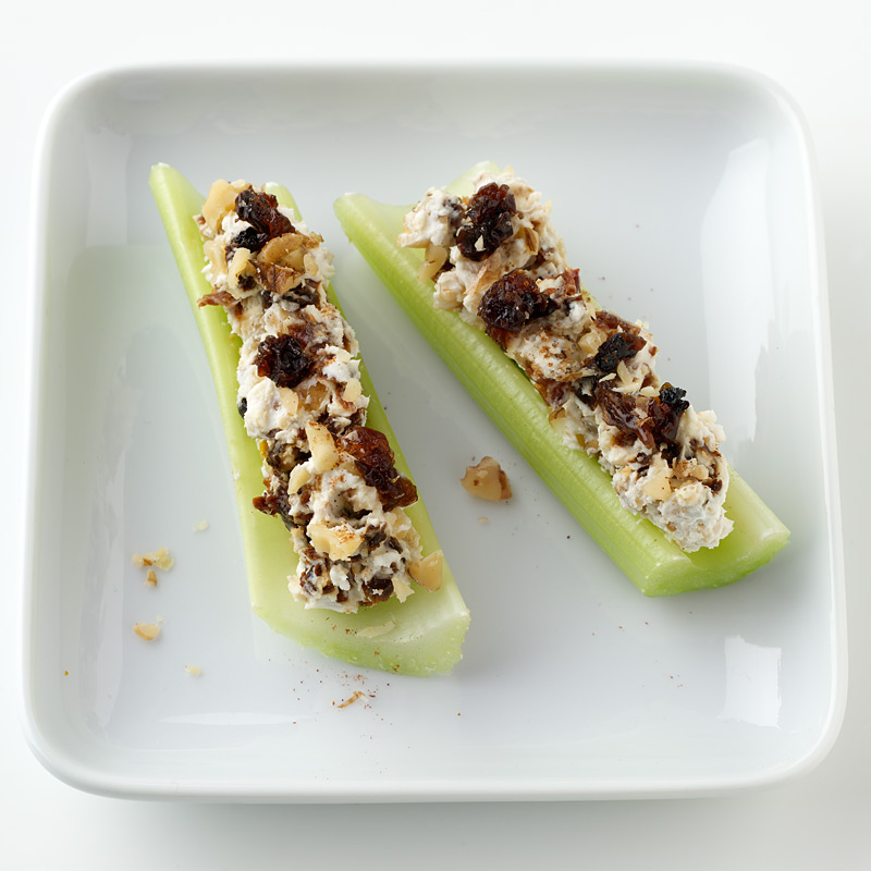 Photo of Celery Stuffed with Cream Cheese, Walnuts and Raisins  by WW