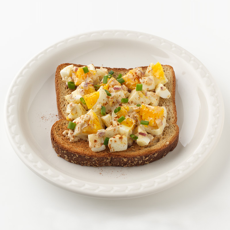 Photo of Open-Face Chopped Deviled Egg Sandwich by WW