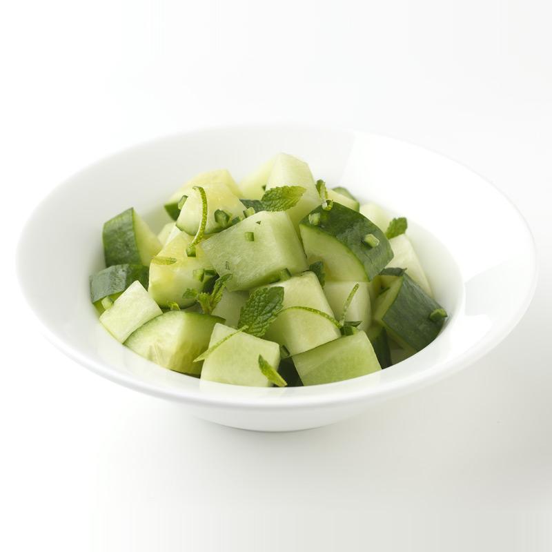 Photo of Cucumber-Melon Salad  by WW