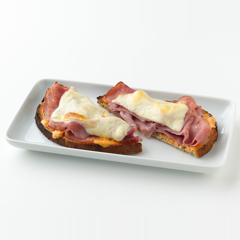 Photo of Open-Faced Ham and Cheese  by WW