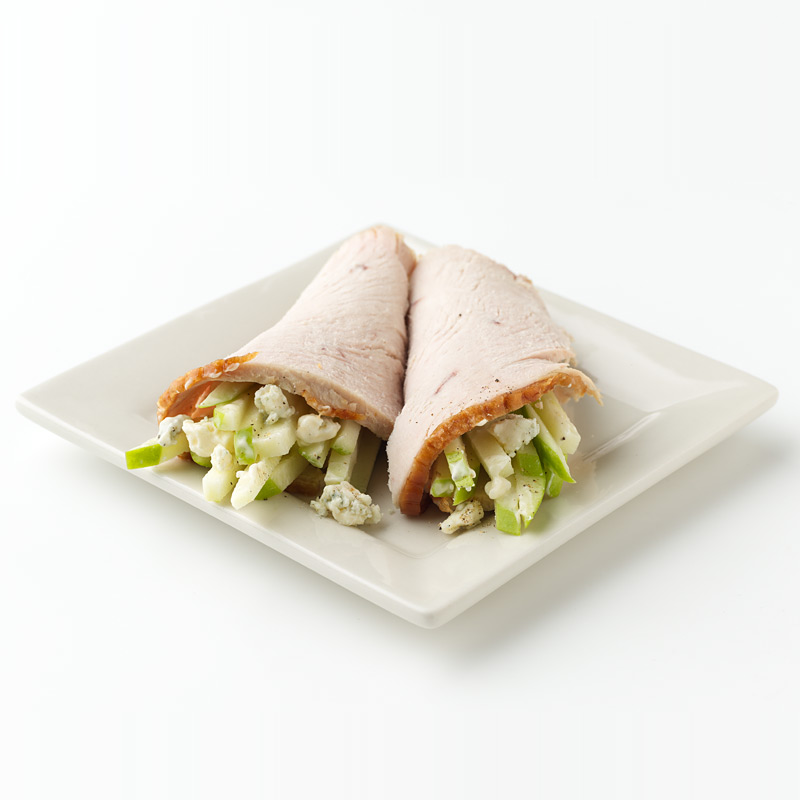 Photo of Turkey, Apple and Blue Cheese Roll-Ups by WW