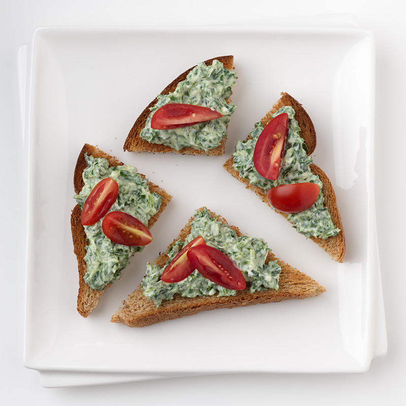Photo of Arugula and Goat Cheese Toasts by WW