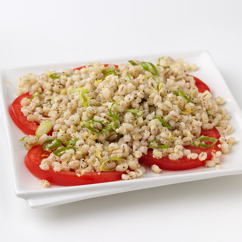 Photo of Barley Salad over Fresh Tomatoes by WW