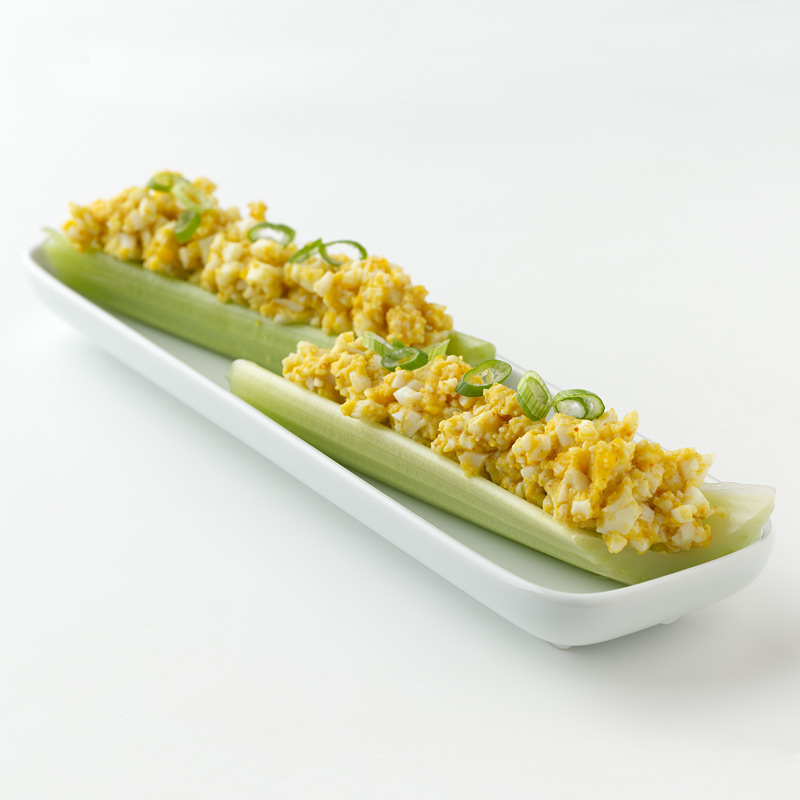 Photo of Curried Deviled Egg Celery Sticks by WW