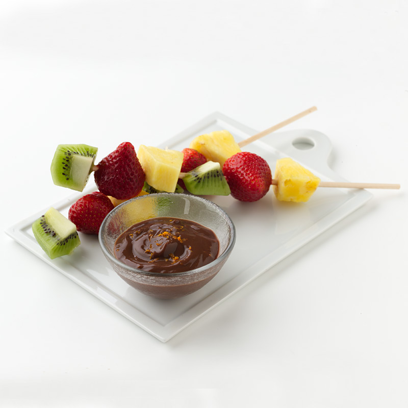 Photo of Fresh Fruit with Chocolate Dip  by WW