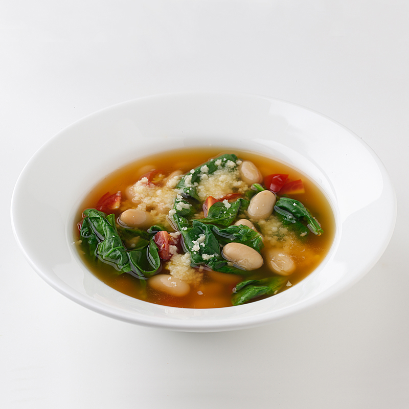 Photo of Italian White Bean and Spinach Soup by WW