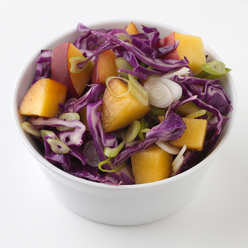 Photo of Just Peachy Cabbage Slaw by WW