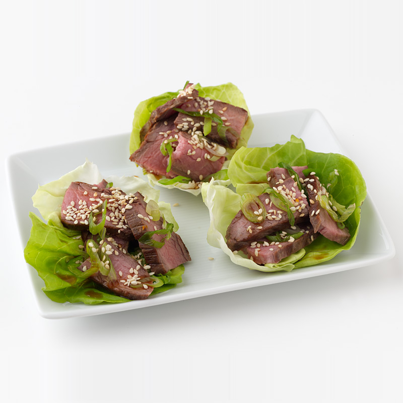 Photo of Negamaki Lettuce Wraps by WW