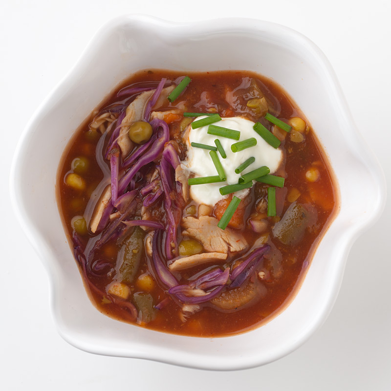 Photo of Smokey Cabbage, Turkey and Vegetable Soup by WW