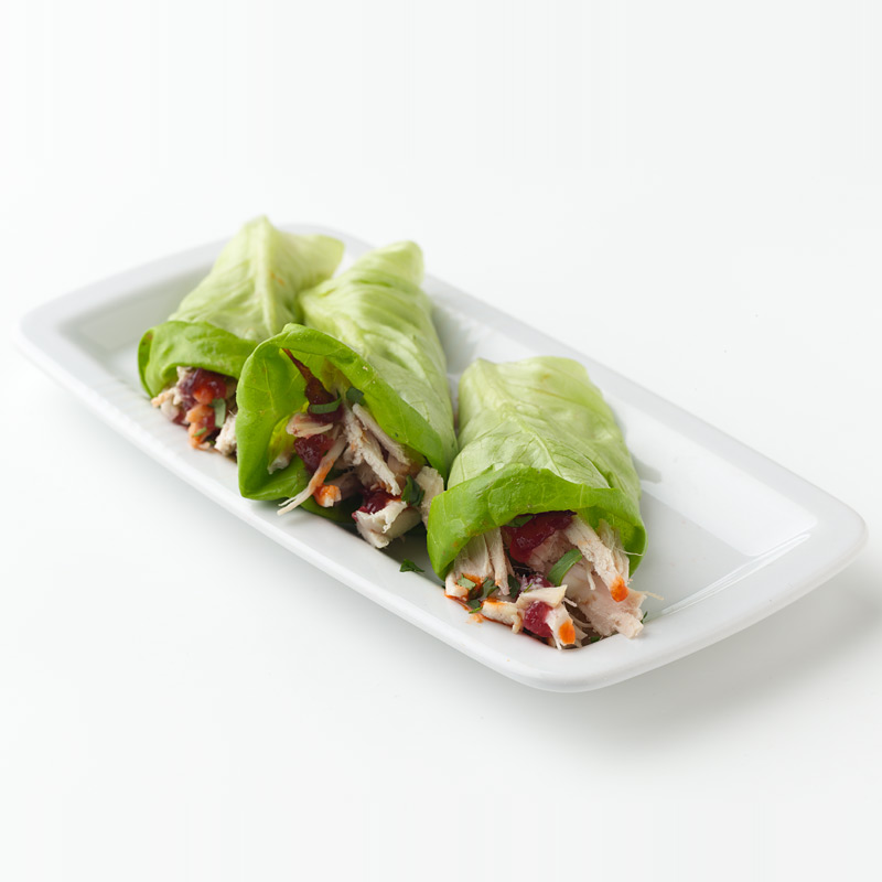 Photo of Southwest Turkey-Cranberry Lettuce Wraps by WW