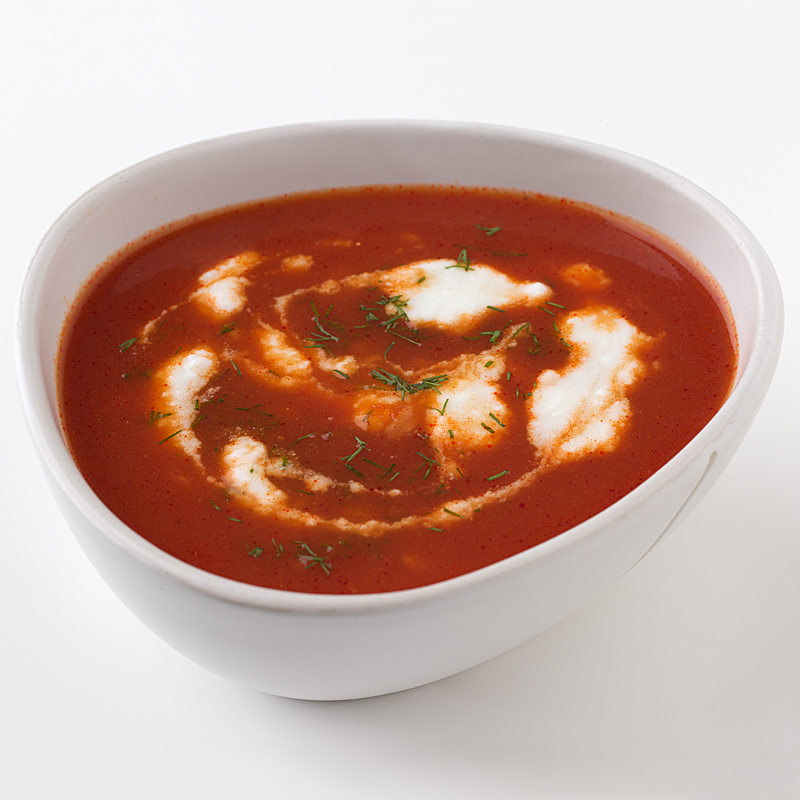 Photo of Tomato-Rice Soup with Dill by WW