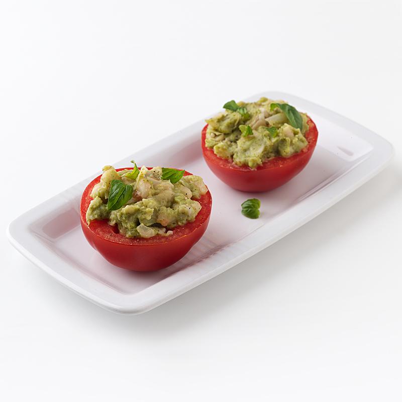 Photo of White Bean-Pesto Stuffed Tomato by WW