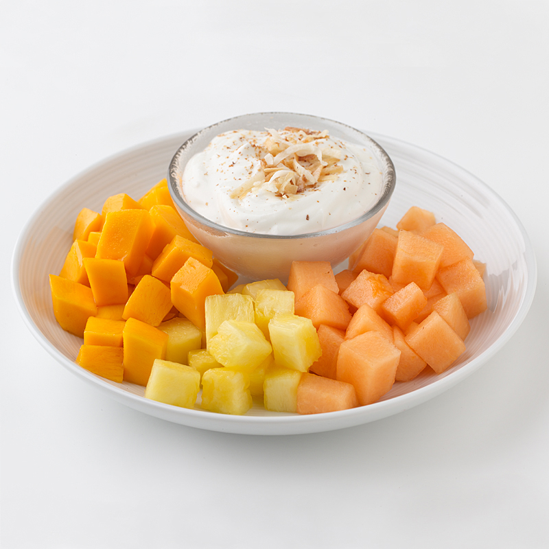 Photo of Tropical Fruit and Yogurt Plate by WW
