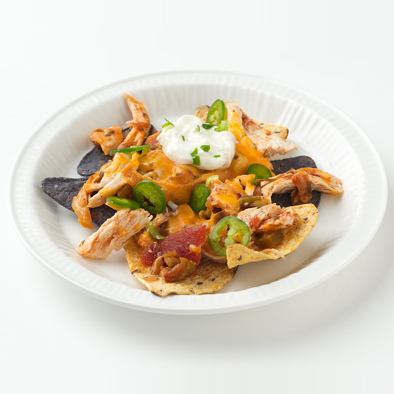 Photo of Cheesy Chicken Nachos  by WW