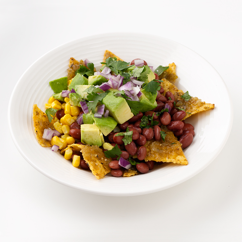 Photo of Green Chilaquiles with Red Beans by WW