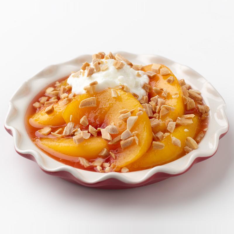 Photo of Mini Crustless Peach Pie  by WW