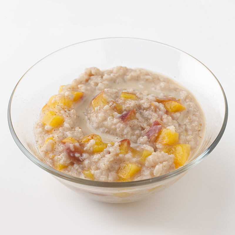 Photo of Peaches and Cream Oatmeal  by WW