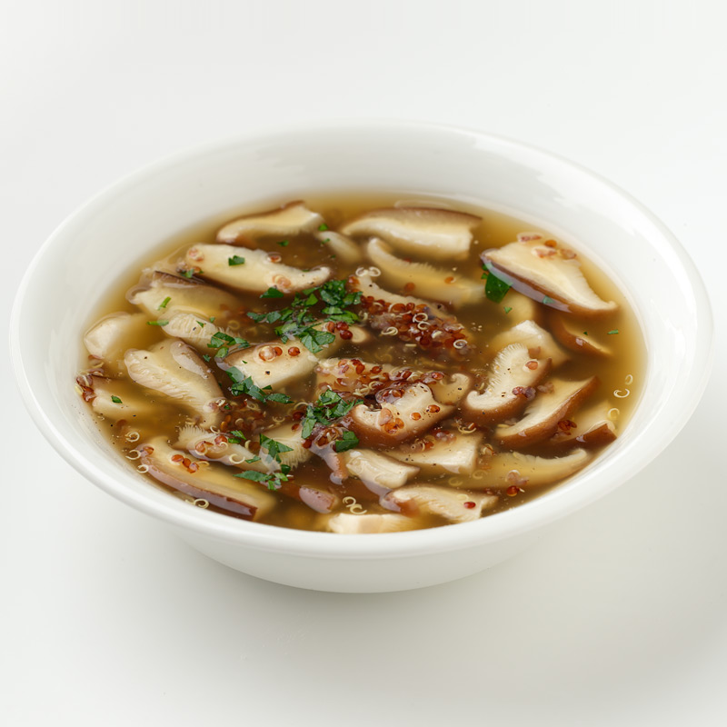 Photo of Quinoa and Shiitake Soup by WW