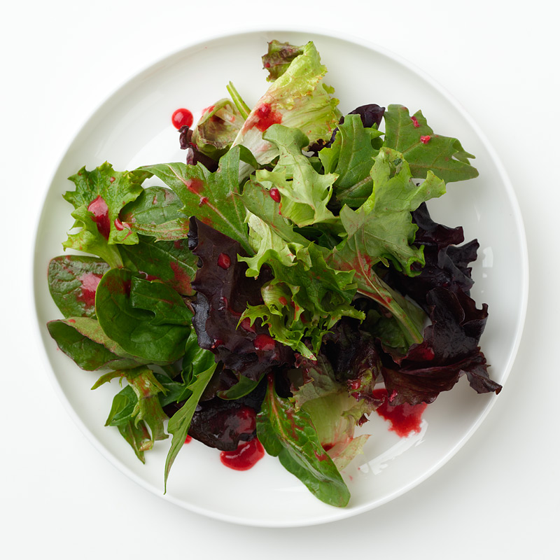 Photo of Greens with Raspberry Vinaigrette by WW
