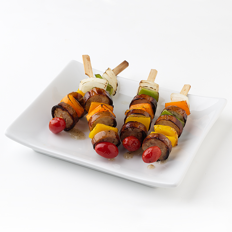 Photo of Sausage and Pepper Skewers  by WW