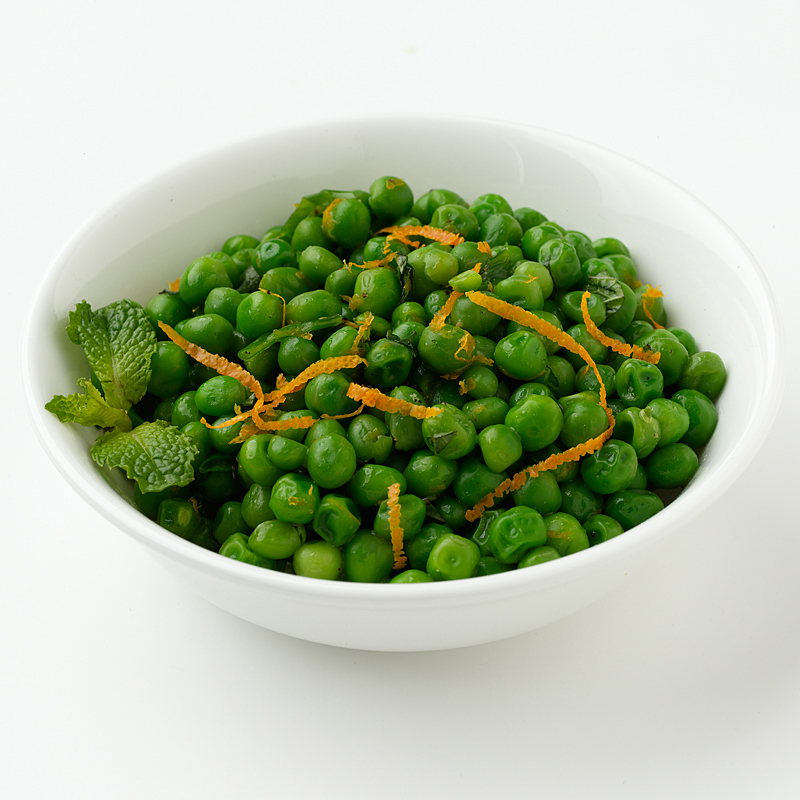 Photo of Buttered Peas with Orange and Mint by WW