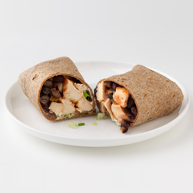 Photo of Chicken and Black Bean Wrap by WW